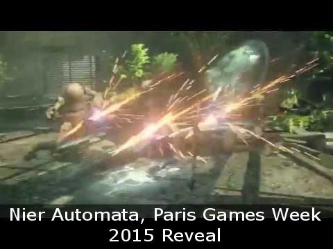 Nier Automata – Paris Games Week 2015 Reveal