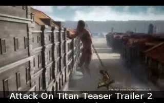 Attack On Titan Teaser Trailer 2, Eagerly Anticipated Action Title