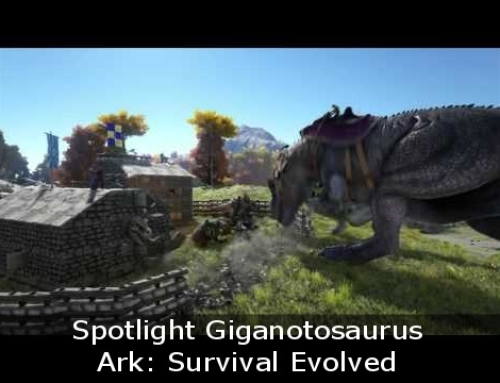 Spotlight Giganotosaurus, Ark: Survival Evolved