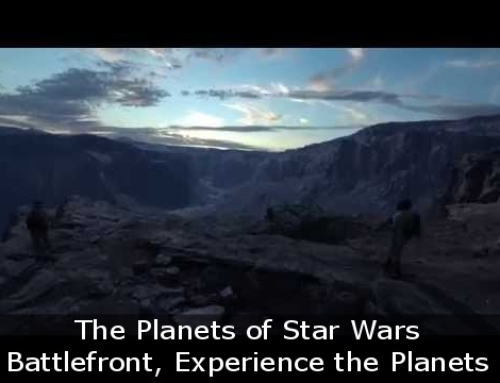 The Planets of Star Wars Battlefront, Experience the Planets