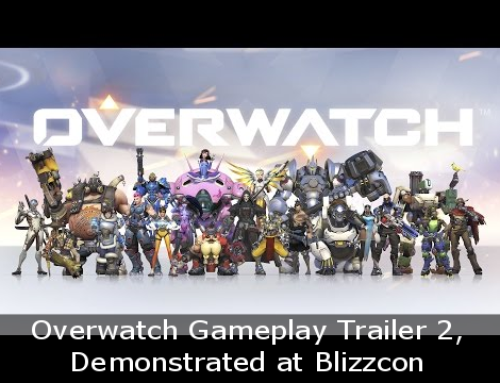 Overwatch Gameplay Trailer 2, Demonstrated at Blizzcon