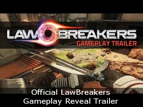 Official LawBreakers Gameplay Reveal Trailer