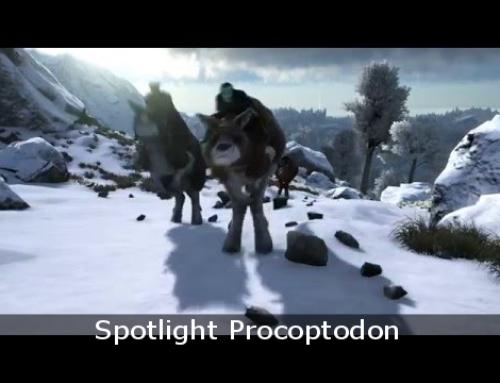 Spotlight Procoptodon