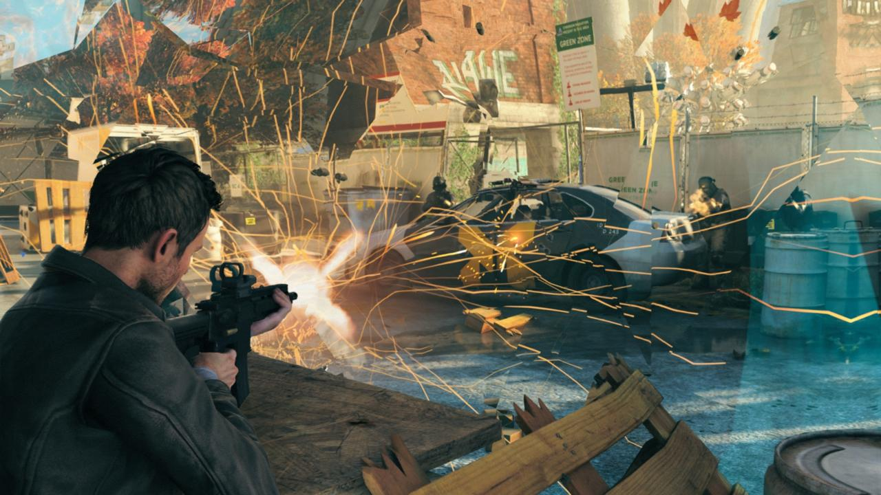 Quantum Break Is Close to Being Done