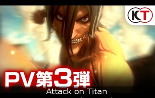 Attack on Titan - New Gameplay Trailer