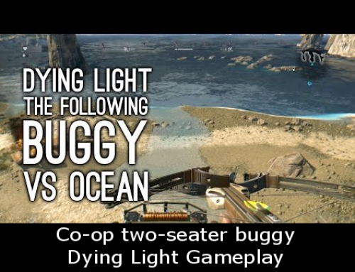 Co-op two-seater buggy Dying Light Gameplay