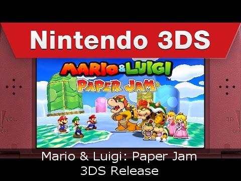 Mario & Luigi Paper Jam - 3DS Release