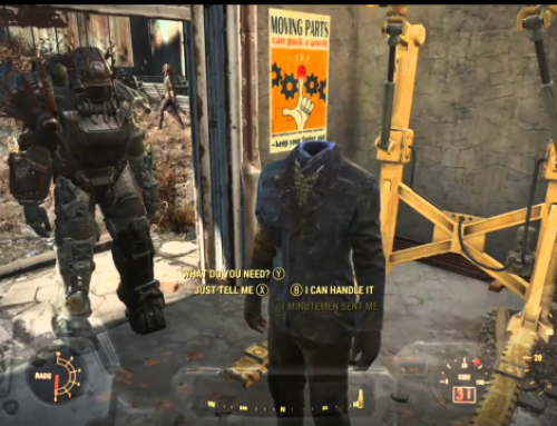 Next Fallout 4 update, Keeping your Head were it Belongs