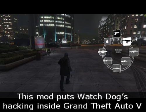 This mod puts Watch Dog's hacking inside Grand Theft Auto V