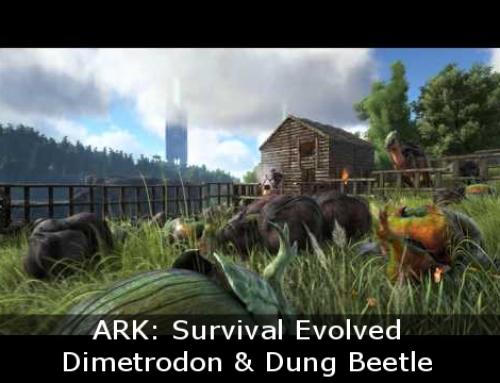 ARK: Dimetrodon & Dung Beetle