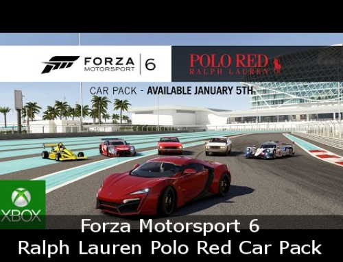 Ralph Lauren Polo Red Car Pack – Forza Motorsport