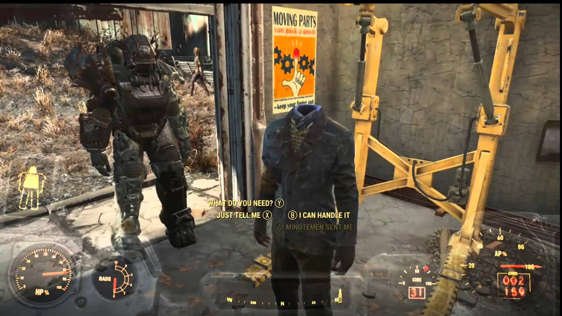 next fallout 4 update keeping your head were it belongs gaming