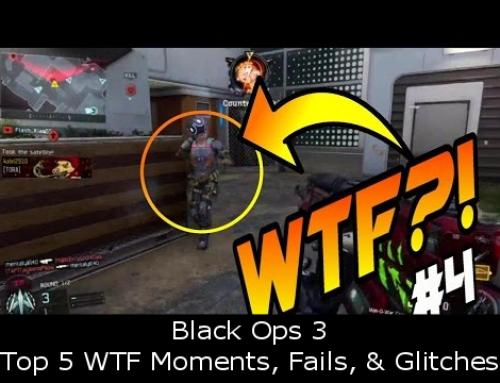 Black Ops 3 – Top 5 WTF Moments, Fails, & Glitches