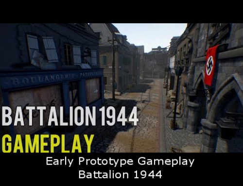 Early Prototype Gameplay – Battalion 1944
