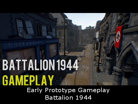 Early Prototype Gameplay - Battalion 1944