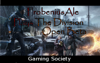 Gaming Society - The Division Twitch Stream