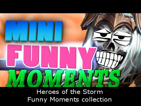 Heroes of the Storm - Funny Moments collection