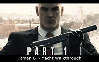 Hitman 6  - Yacht Walkthrough