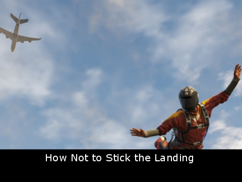 How Not to Stick the Landing