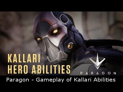 Paragon - Gameplay of Kallari Abilities