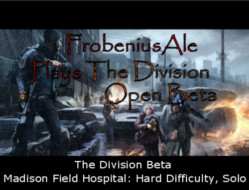 The Division Beta – Madison Field Hospital Solo Hard Difficulty