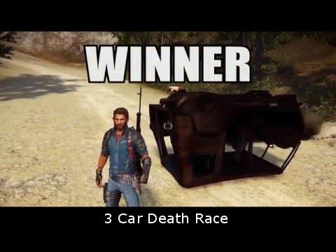 3 Car Death Race