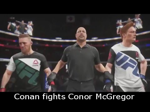 Conan fights Conor McGregor