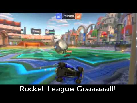 Rocket League Goaaaaall!